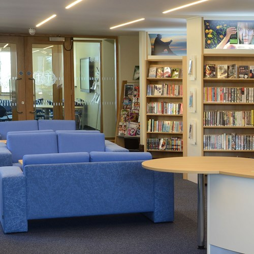 Creating a welcoming school library